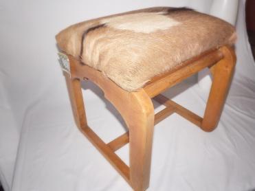 deerhide stool 2