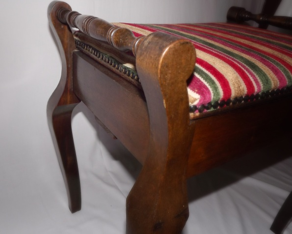 striped piano chair 2