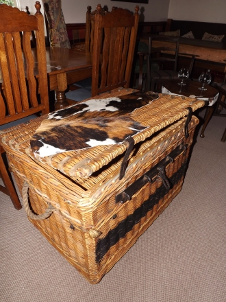 old theatre laundry basket HUGE!