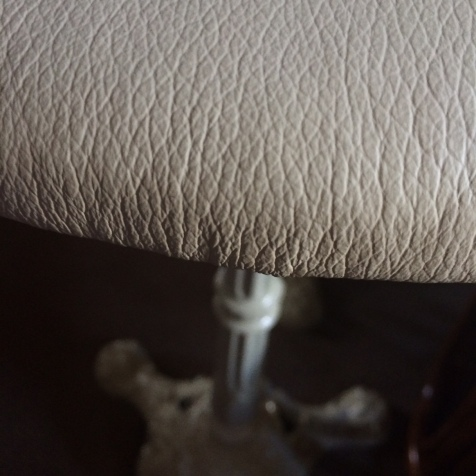 leather quality close up