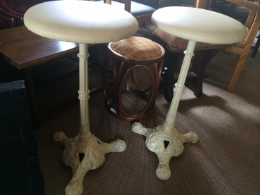 cast iron stools