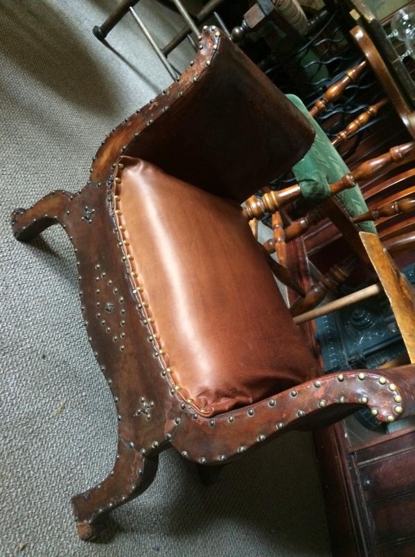 antique foot stool seat