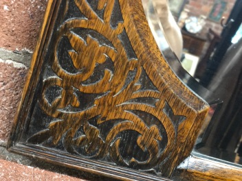carved mirror detail